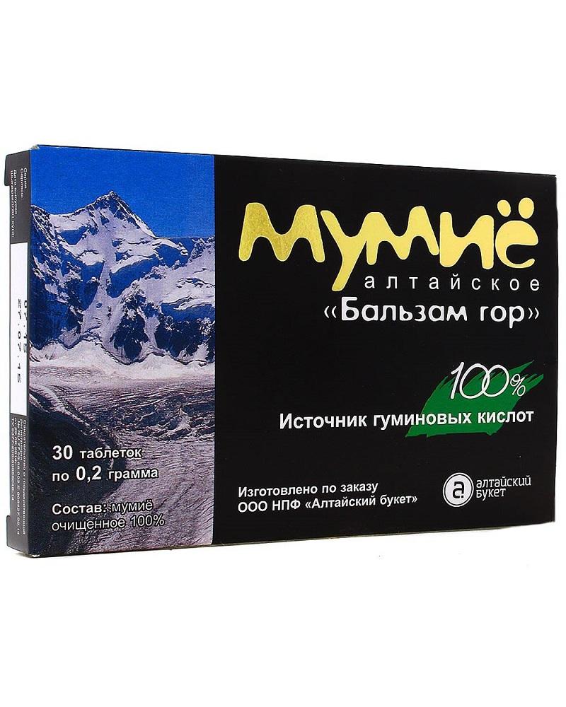 Мумие Алтайское в таблетках, 30 таб.