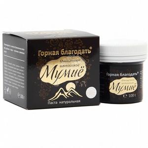 Мумие алтайское Горная благодать,100 гр.